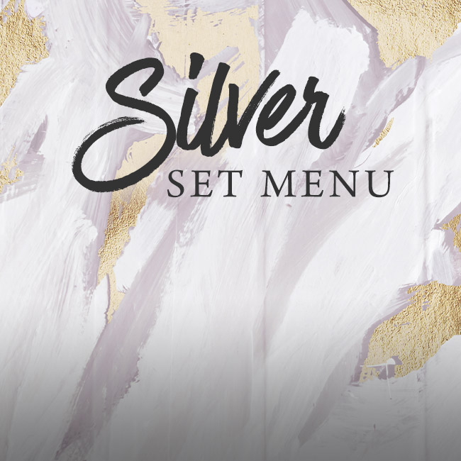 Silver set menu at The Orange Tree